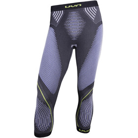 UYN Evolutyon UW Pantalon de cyclisme Homme, anthracite melange/blue/yellow shiny